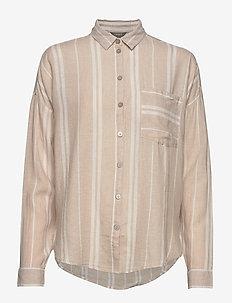 Shirt Zolero - koszule z długimi rękawami - light beige
