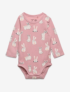 Body aop rabbit - dusty pink