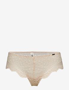 Brief  Julia Thong reg - culottes et slips - light beige