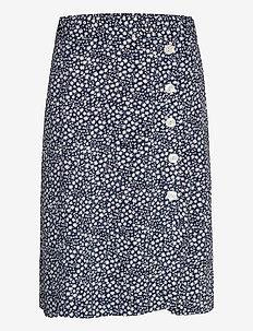 Skirt Molly - spódnice do kolan i midi - dark blue