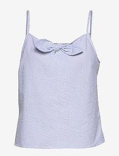 Blouse Camille - bluzki bez rękawów - chambray blue