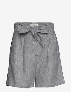 Shorts Celina - paper bag shorts - dark blue