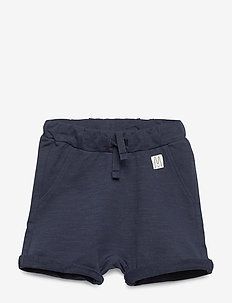 Shorts solid fleece - shorts - navy