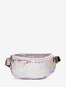 Bag belly flip sequins - LIGHT PINK