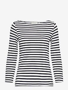 Top Pacific - stripede t-skjorter - dark blue