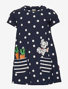 Top long Bamse s s pockets - kjoler - navy
