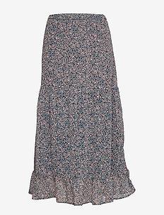 Skirt Claudia - midi kjolar - navy