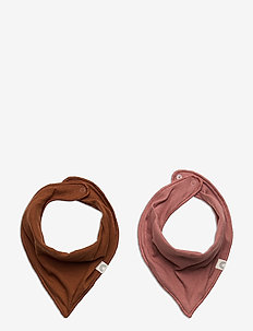 Scarf 2 pack rib - winter clothing - dusty pink