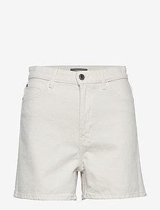 Shorts Naomi white - farkkushortsit - off white