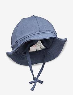 Headgear - sun hats - dk dusty blue