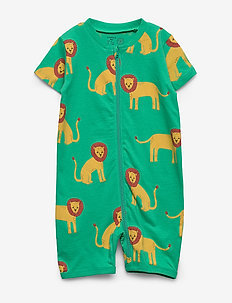 Pyjamas SS Lions aop - schlafoverall - light green