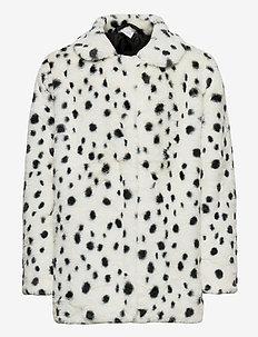 Jacket fur Stella - faux fur - lt beige