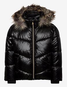 Jacket Tessa - boblejakker og fôrede jakker - black