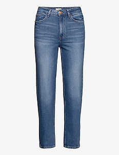 Denim trousers Nea retro blue - proste dżinsy - denim