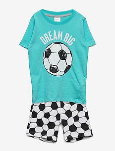 Pajama SB Football - sets - light turquoise