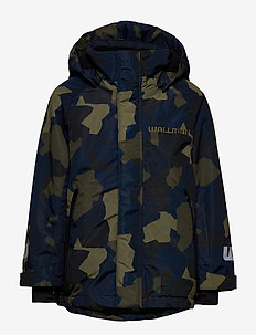 Jacket Wallride - parkas - dk khaki green