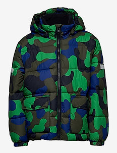 Jacket puffer - gewatteerde jassen - dk khaki green