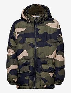 Jacket puffer - vinterjakke - dk khaki green