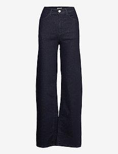 Trousers denim Wide rinse - broeken met wijde pijpen - dark denim