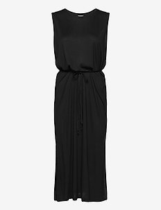 Dress Seoul - sukienki do kolan i midi - black