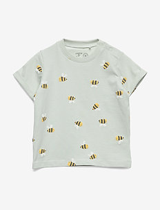 Top bumblebee - short-sleeved - light aqua