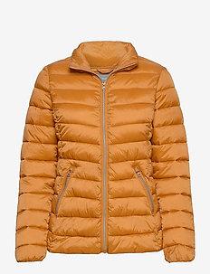Jacket Alice - gewatteerde jassen - dark dusty yellow