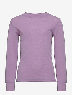 Top merino uni big solid Wallr - tops - lilac