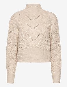 Sweater Sissela - rolkraagtruien - white
