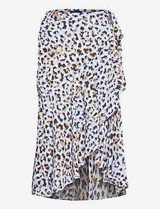 Skirt Serena - midi rokken - blue