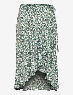 Skirt Serena - midi rokken - off white