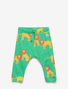 Trousers loose Lion - byxor - light green