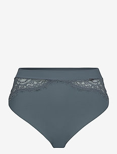 Brief Thong high Smilla - midi & maxi truser - dusty blue