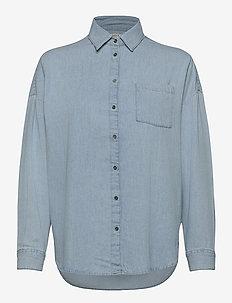 Roxy denim - overhemden met lange mouwen - denim blue