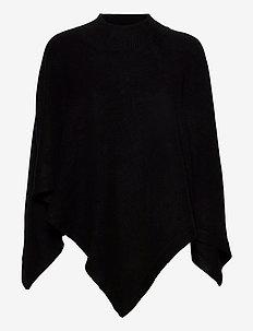 Poncho Susan - poncza & peleryny - black
