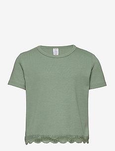 Top rib Mary - blusen & tuniken - light dusty green