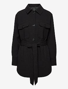 Coat Nellie - dunne jassen - black