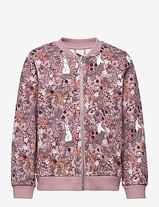 Jacket aop Sweet - bomberjakker - light lilac