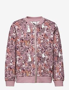 Jacket aop Sweet - bomber jackets - light lilac