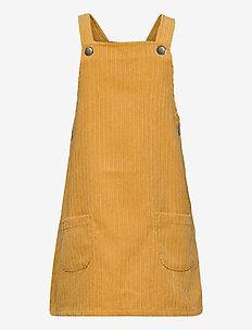 Dress cord Malin - dresses - dk yellow