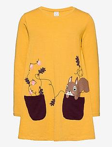 Top long l s colourful fun - kjoler - dk yellow