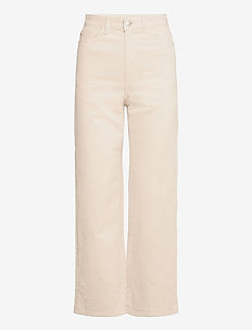 Trousers Hanna cord - brede jeans - beige