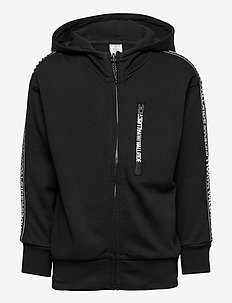 Sweatshirt hood WR camo solid - hoodies - black