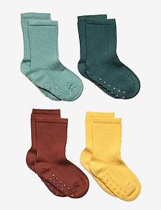 Sock 4p ribb sock - skarpety & rajstopy - yellow