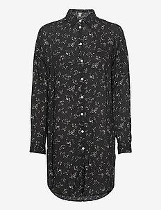 Shirt Solange - tuniki - black