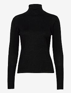 Sweater Tilde - pulls à col roulé - black