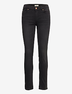 Trousers denim Tova soft black - skinny jeans - black