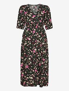 Dress Khloe - robes portefeuille - black