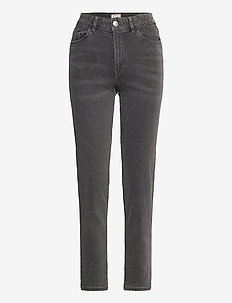 Denim trousers Nea black washe - straight jeans - black