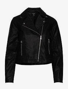 Jacket Biker - leather jackets - black