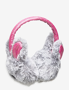 Earmuffs  fur rabbit - chapeaux - grey